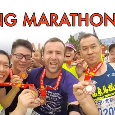 Documentar de alergare: Beijing Marathon 2016