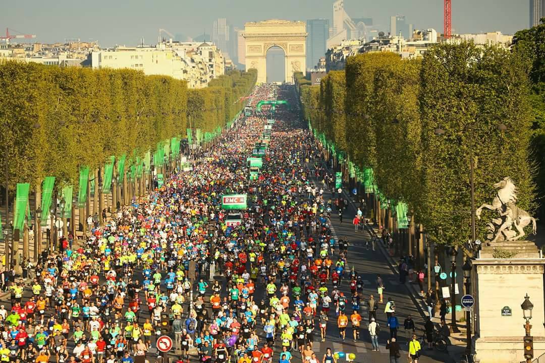 Documentar de alergare: Paris Marathon 2017