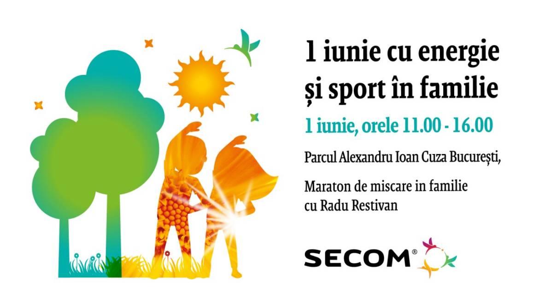 Vă invităm la un 1 iunie altfel: hai la un Maraton de Sport în fFamilie!