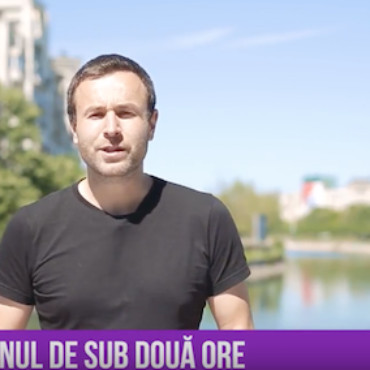Știri în Alergare vs. Running News: buletine de știri în română și în engleză