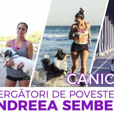 Alergători de poveste: CaniCross cu Andreea Sembely
