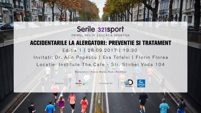 Serile 321sport, prima serie de evenimente educaționale pentru alergători
