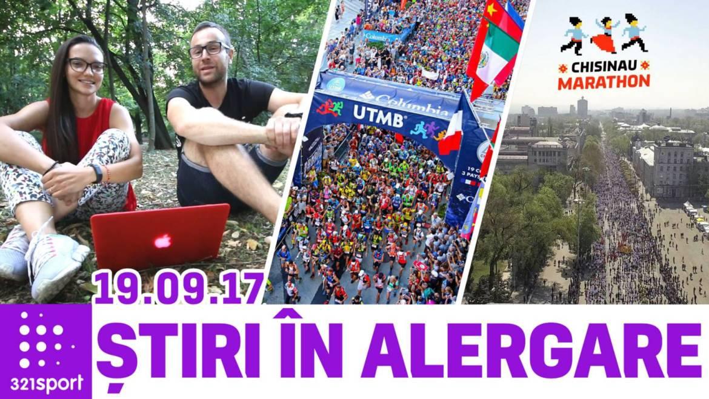 Știri în Alergare #10 – UTMB, Varșovia, Chișinău și Alergător de Poveste
