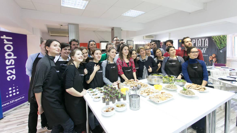 Alergători în Bucătărie ep. 1: am învățat să gătim corect și eficient (foto și video)