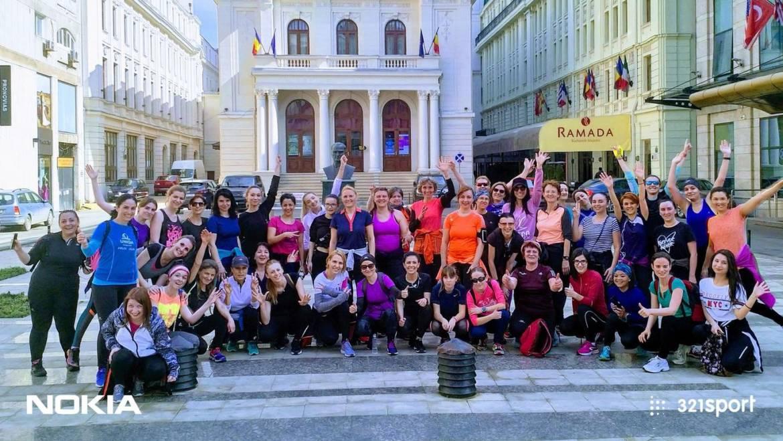 Primăvara alergătoarelor: am sărbătorit feminitatea-n alergare