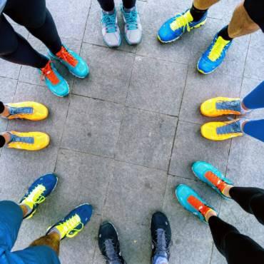 Pantofii On Running au colorat străzile Bucureștiului
