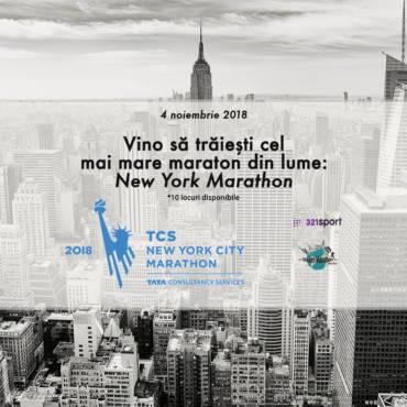 Hai cu 321sport la TCS New York City Marathon, cea mai mare cursă de alergare din lume!