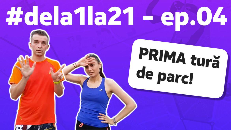 #dela1la21: Primii 7 kilometri alergați!