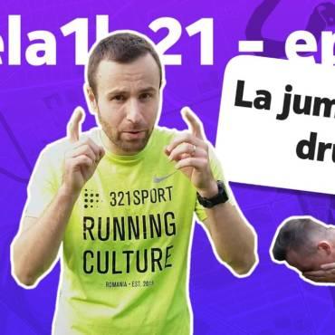 #dela1la21: La jumătatea drumului învățăm să alergăm pe caniculă