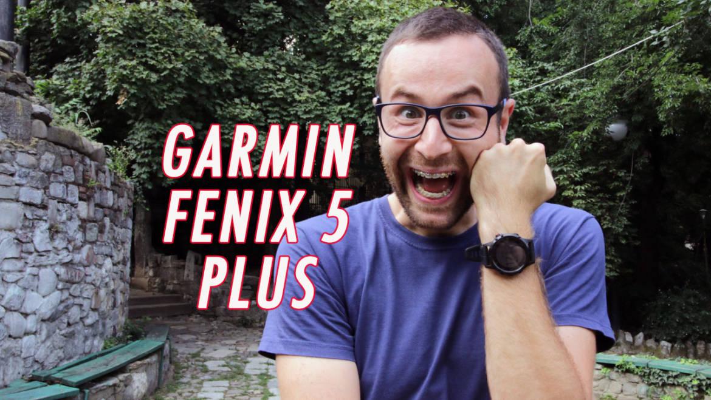180 SEC: review Garmin Fenix 5 PLUS