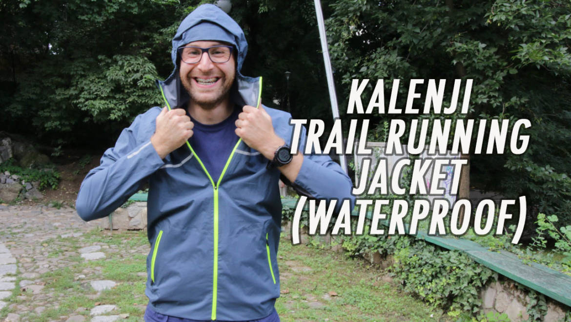 180 SEC: review Kalenji Trail Running Jacket (10.000 Schmerbers)