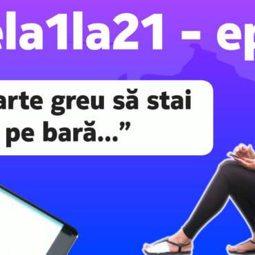 Bobocii #dela1la21 – ep. 7: O fractură în calea primul semimaraton!