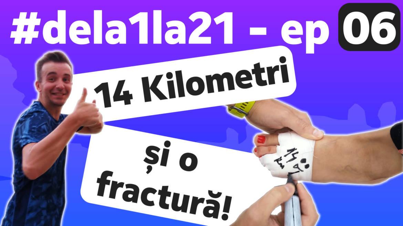 Bobocii #dela1la21 – ep. 6: Liviu – 14 kilometri. Alexandra – fractură!