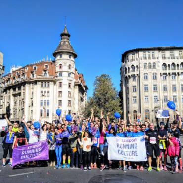 Program 321sport la Bucharest Half Marathon 2019: alergători și cheering point