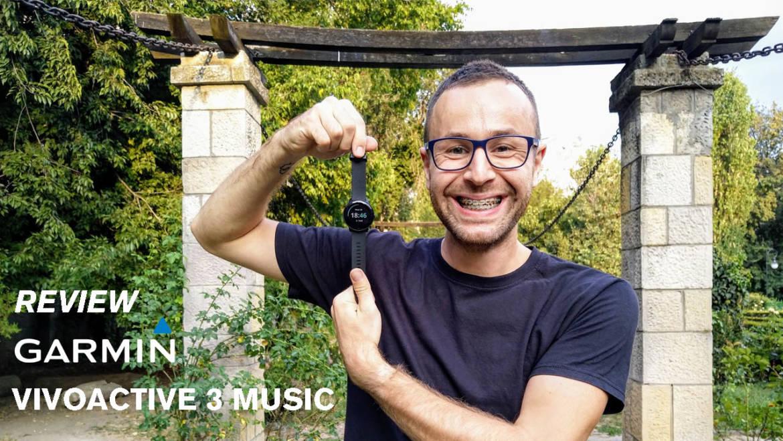 180SEC+: review Garmin Vivoactive 3 Music (un ceas COMPLET)