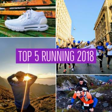 TOP 5 RUNNING 2018: pantofi, echipament, competiții, magazine
