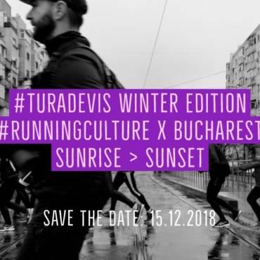 #TuraDeVis Winter Edition 2018: Alergăm de la răsărit până la apus. Unim orașul!