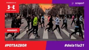 #PotSaZbor #dela1la21 - S09 Avansaţi - drumul către primul PB la semimaraton