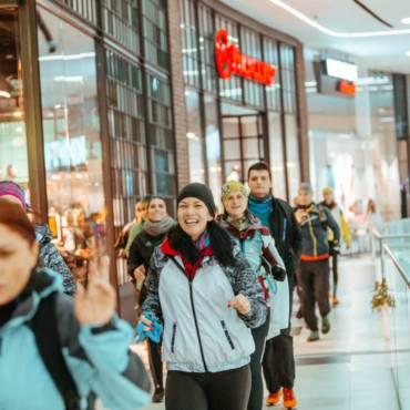 Mega maraton prin Mega Mall la #TuraDeVis Winter Edition 2018