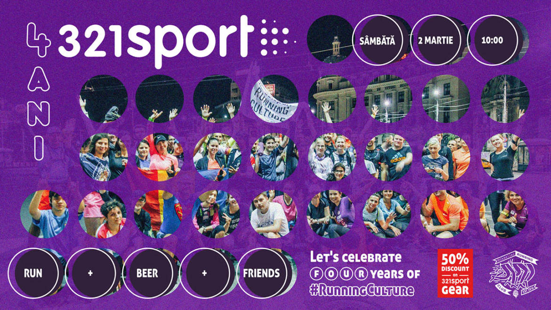 4321sport: aniversăm 4 ani de 321sport! Ne vedem pe 2 martie la Mikkeller