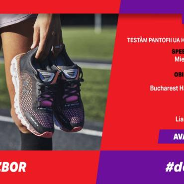 Un nou test al pantofilor HOVR Infinite la #PotSaZbor #dela1la21