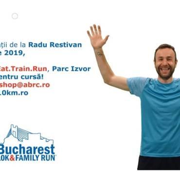 Eat. Train. Run. Educație pentru alergători la Bucharest 10K & FAMILY RUN
