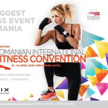 CONCURS: Vino la cea mai importantă Convenție de Fitness din Europa!