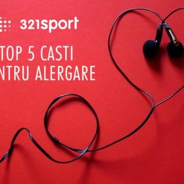 321sport TOP 5: cele mai bune căști pentru alergare