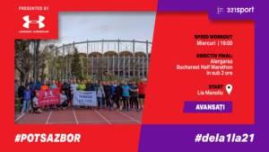 PotSaZbor Dela1la21 - S9 Avansați - Ultimul antrenament înainte de semi @ Pista de atletism Lia Manoliu
