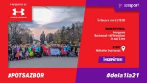 #PotSaZbor #dela1la21 - S09 Începători - Ultima alergare înainte de semi @ Mikkeller Bucharest