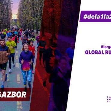 Hai alături de noi să sărbătorim Global Running Day în alergare!