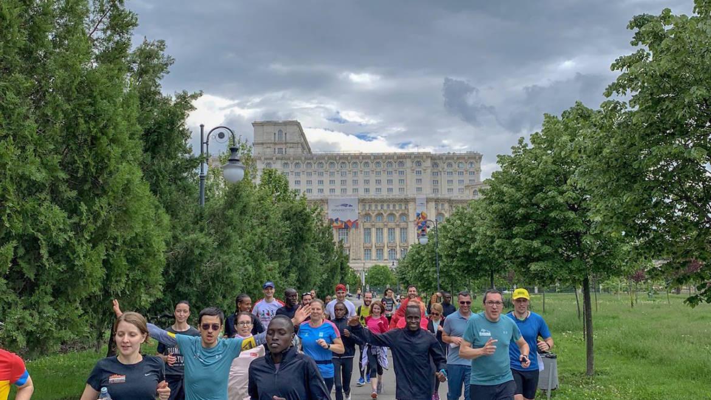 Ce zi fantastică! Bucharest Running Party: comunitatea alergătorilor la superlativ!