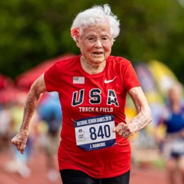 """Cea mai în vârstă alergătoare din America: """"La 103 ani, fiecare zi e un miracol"""""""