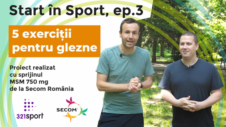 Start în sport: 5 exerciții pentru glezne care te ajută să scapi de dureri