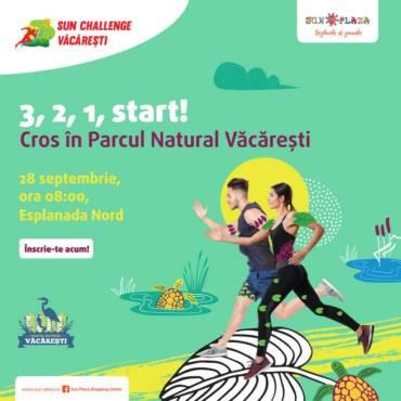 Hai să alergăm în inima verde a orașului la Sun Challenge Văcărești