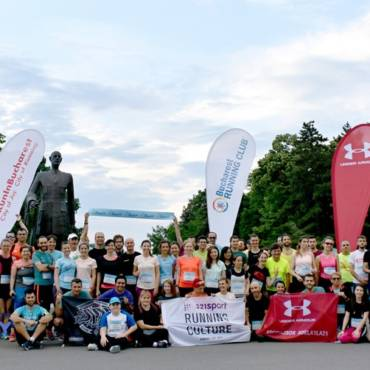 Am dat mai departe bucuria de a alerga la Global Running Day!