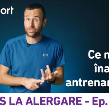Yes la Alergare – EP10: Ce și cât e bine să mănânc înainte de antrenamente?