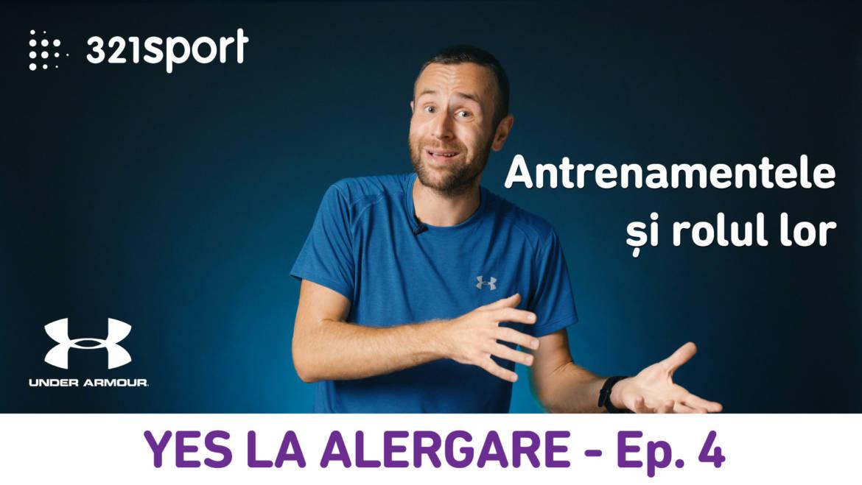 Yes la Alergare – EP4: Tipuri de antrenamente și rolul lor