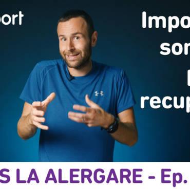 Yes la Alergare – EP14: Importanța somnului pentru recuperare