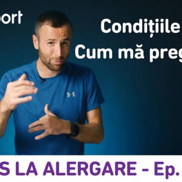 Yes la Alergare – EP16: Condiţiile meteo din ziua cursei: cum mă pregătesc?