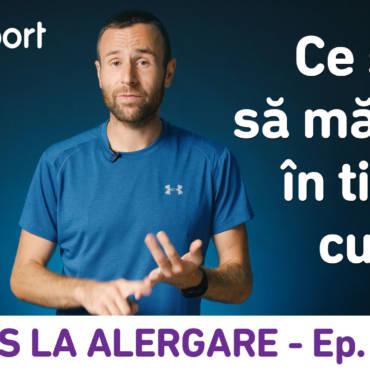 Yes la Alergare – EP18: Ce şi cât să mănânc în timpul cursei?