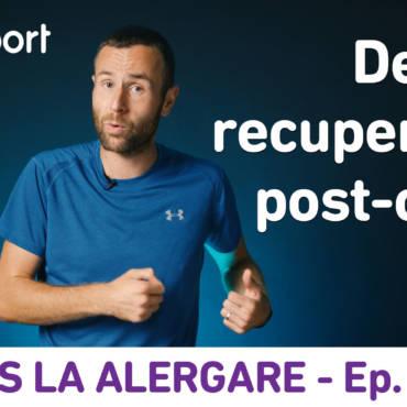 Yes la Alergare – EP19: Despre recuperarea post-cursă