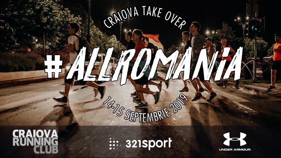 #ALLROMANIA – Craiova Running Club x 321sport – Running Crews Together