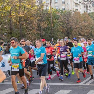 Aventurile lui Gabriel Boga la Bucharest Half Marathon!