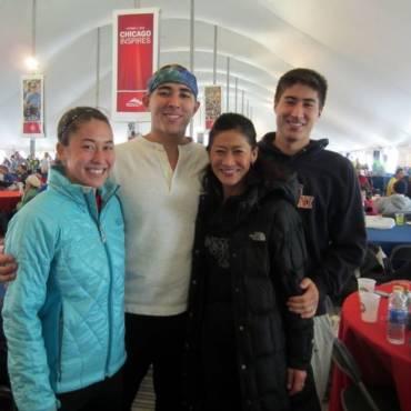 #RunningCulture: An de an, familia se reuneşte pentru Chicago Marathon
