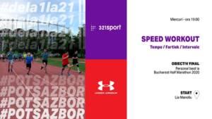 PotSaZbor Dela1la21 II - S11E07 Avansaţi - #SpeedWorkout Tempo @ Pista de atletism Lia Manoliu