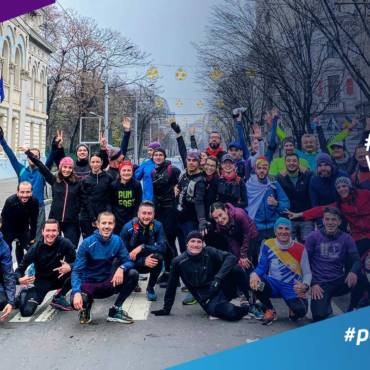 Video #TuraDeVis Winter Edition 2019: am alergat 61,1 KM de la răsărit până la apus!