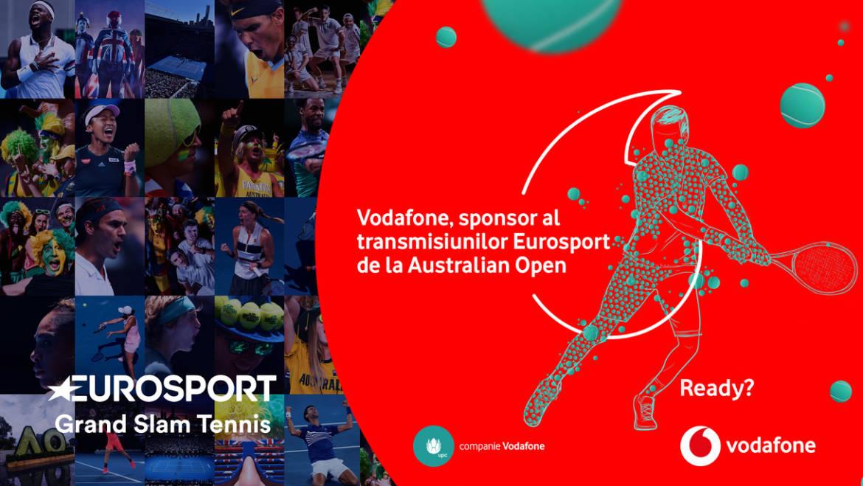 Marile turnee de tenis din 2020 se văd pe Eurosport, în Vodafone TV!