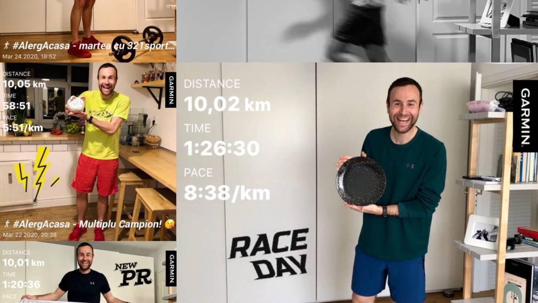 Am alergat 50 KM în 5 zile în apartament. Ce am învățat din asta! / COVID-19