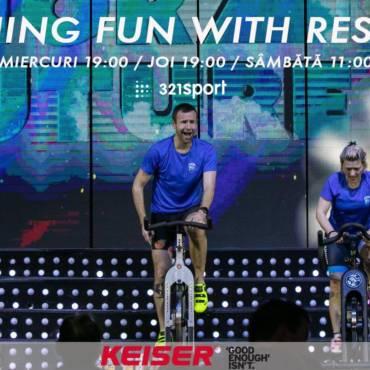Spinning Fun with Restivan: pedalăm și ne distrăm împreună!